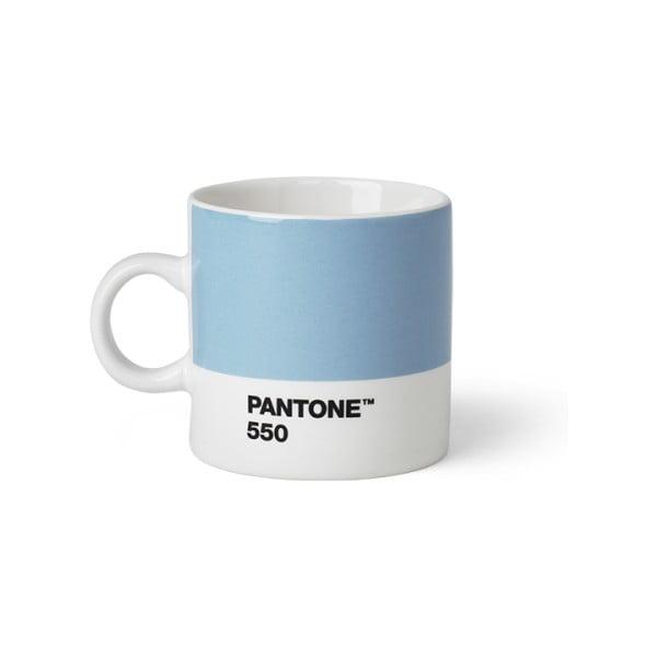 Cană Pantone 550 Espresso, 120 ml, albastru deschis