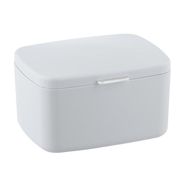 Biały pojemnik do łazienki Wenko Barcelona