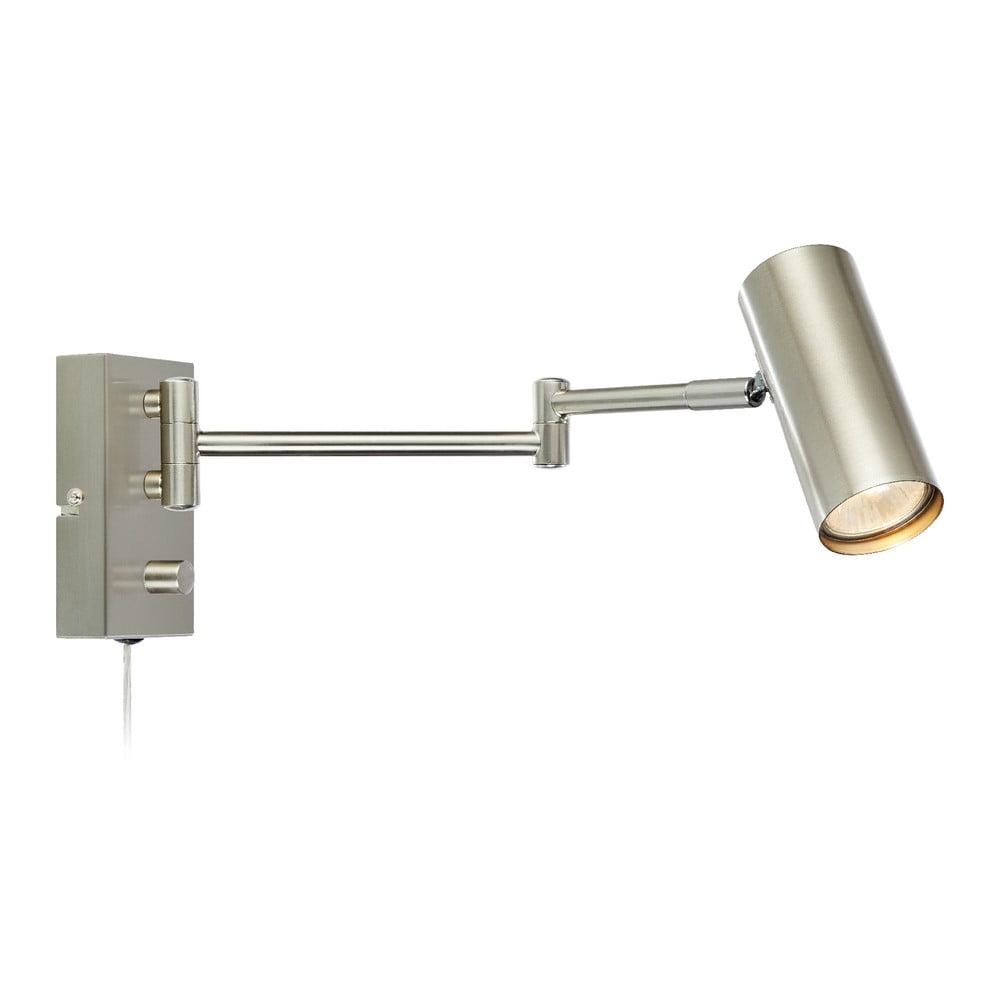 Šedá kovové nástěnné svítidlo Markslöjd Torino