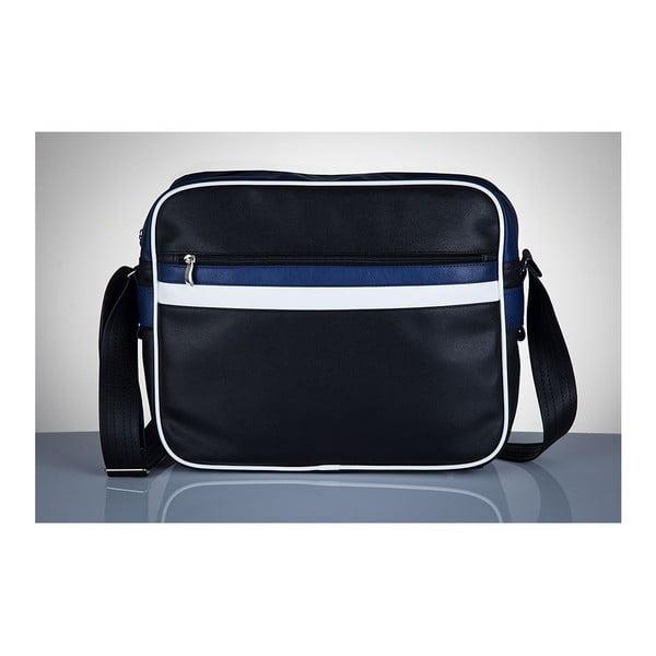 Pánská taška Solier MS1, modré detaily