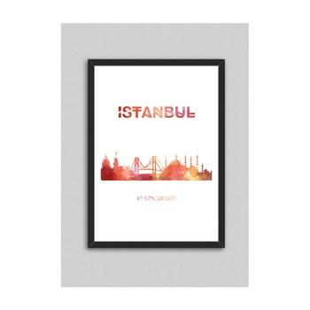 Tablou North Carolina Scandinavian Home Decors Istanbul, 33 x 43 cm