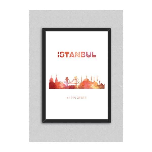 Obraz North Carolina Scandinavian Home Decors Istanbul, 33x43 cm