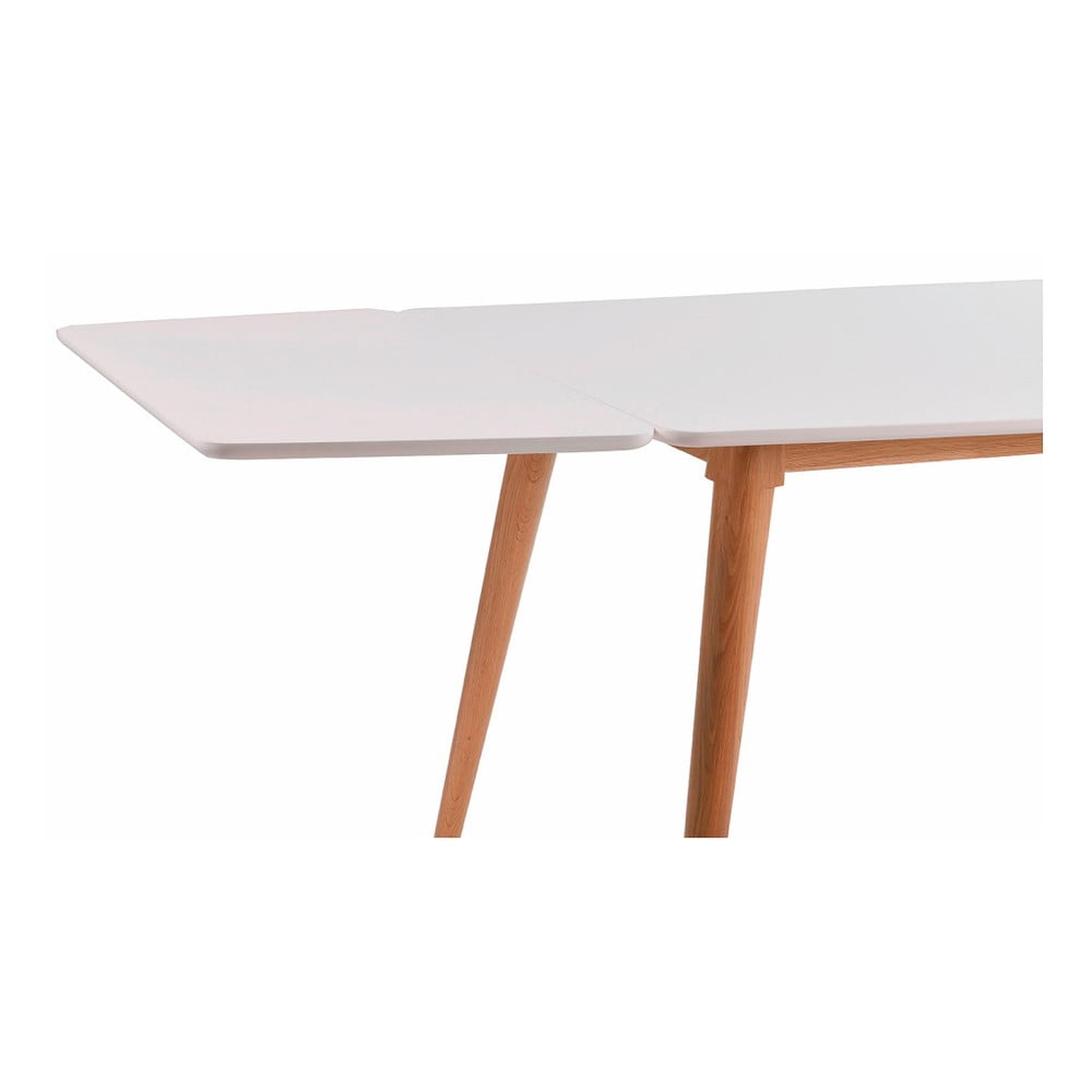 Bílá přídavná deska k jídelnímu stolu Sprite