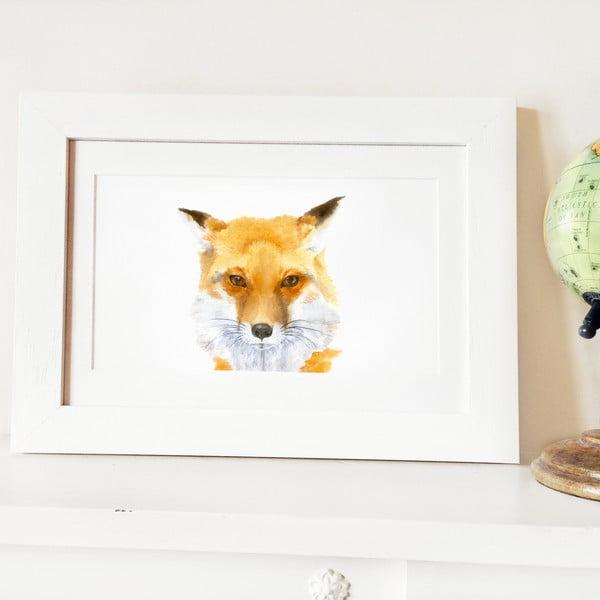 Plakát Papa Fox A4