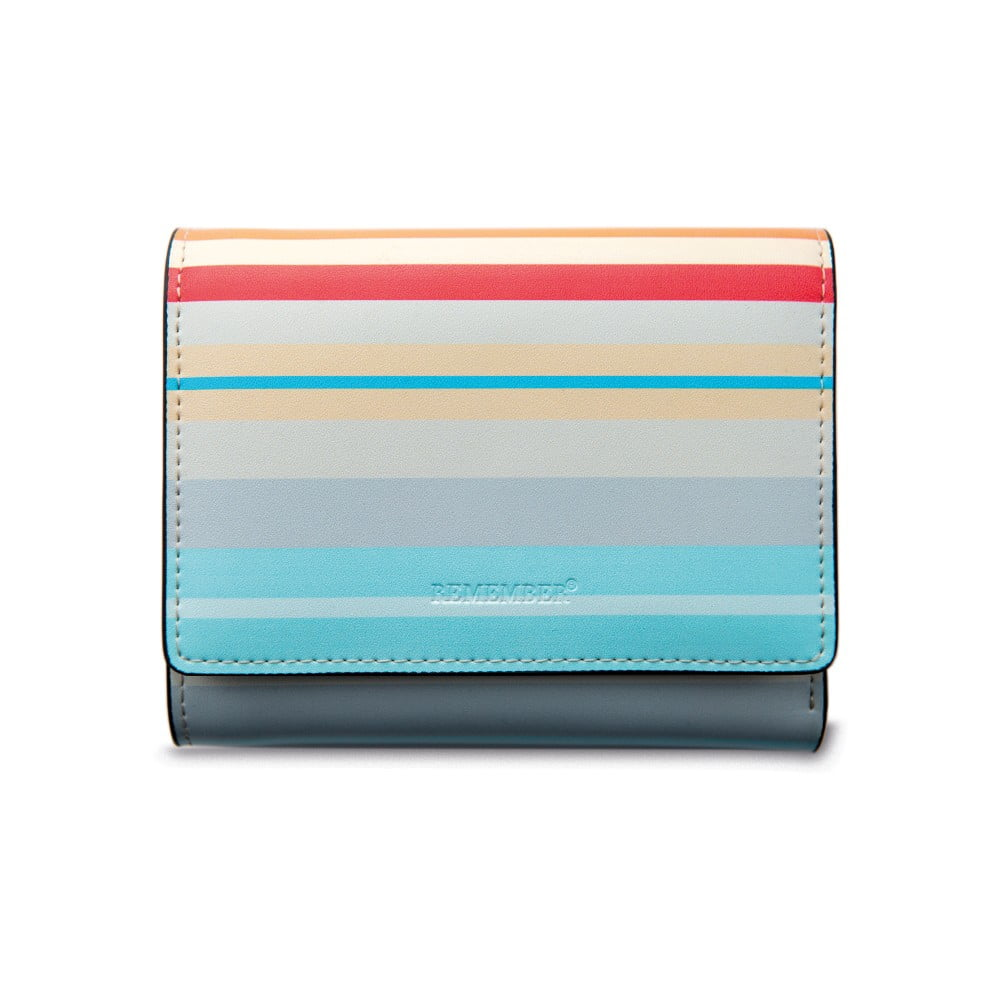 Kožená dámská peněženka Remember Sandy Stripes