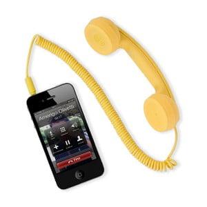 Externí sluchátko hi-Ring mini, žluté