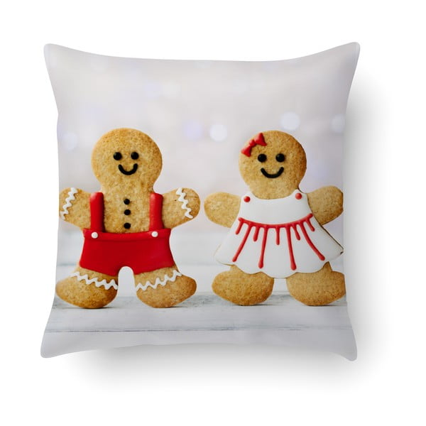 Pernă Crido Consulting Gingerbread Love, 40 x 40 cm