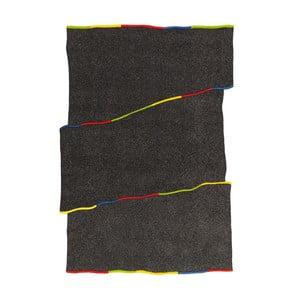 Ručně tkaný koberec Spirit Frisee Dark, 140x200 cm