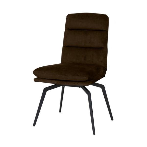 Kávově hnědá jídelní židle Canett Uri