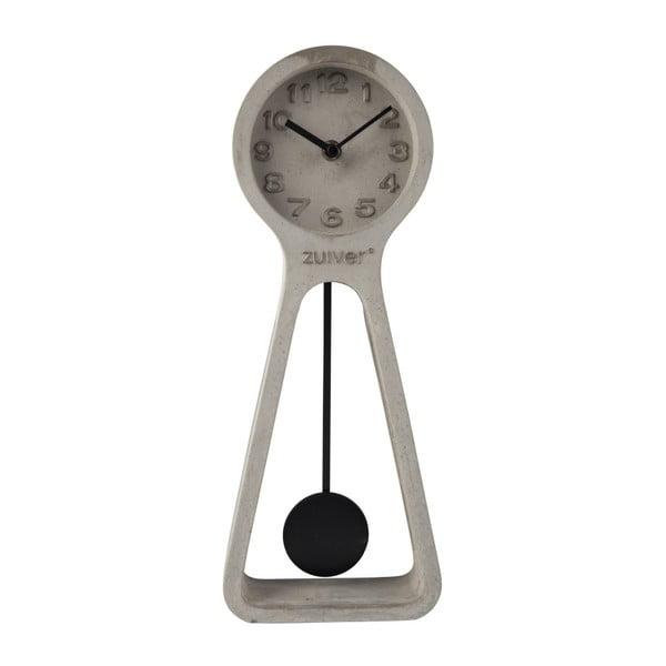 Pendulum szürke beton asztali óra - Zuiver