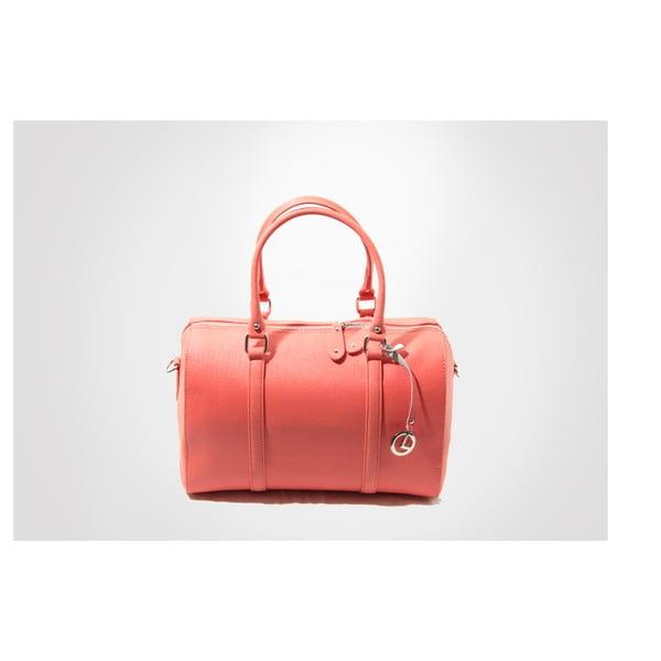 Kožená kabelka Sophie, coral