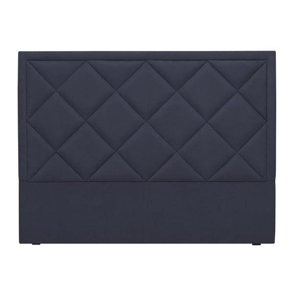 Tmavě modré čelo postele Windsor & Co Sofas Superb, 140 x 120 cm
