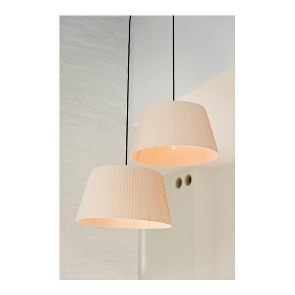 Závěsné svítidlo Tres L, bílá/bílá