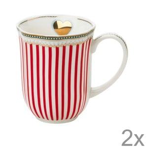 Porcelánový hrnek na kávu Holiday od Lisbeth Dahl, 2 ks