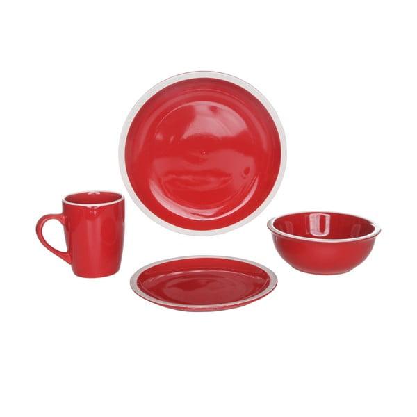 Sada nádobí Inca Red, 16 ks