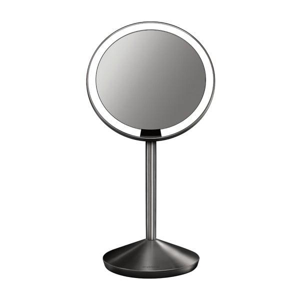 Černé kosmetické zrcátko s osvětlením simplehuman Sensor