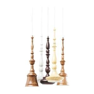 Závěsné svítidlo s 5 objímkami Kare Design Tornito Spiral