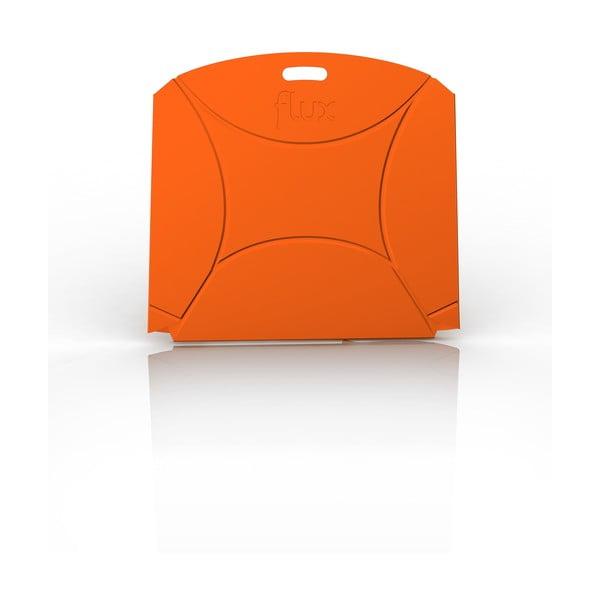 Oranžová židle Flux