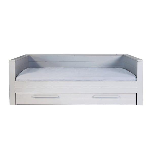 Šedá postel/sofa De Eekhoorn Dennis 90x200cm