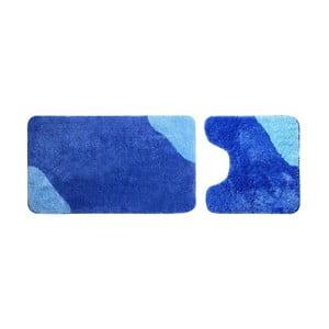 Sada 2 ks koupelnový předložek Acus Blue