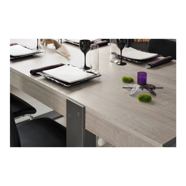 Jídelní stůl v dekoru dubového dřeva Parisot Lille, 224x90cm