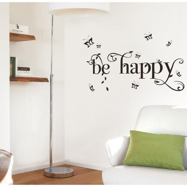 Dekorativní samolepka Eurographics Be Happy