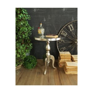Kovový odkládací stolek Orchidea Milano Old Little, ⌀40cm