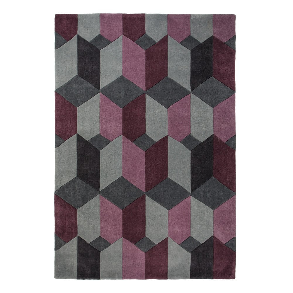 Fialový koberec Flair Rugs Scope 80 x 150 cm