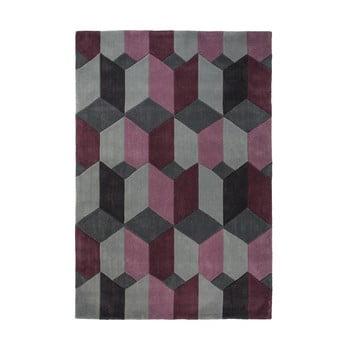 Covor Flair Rugs Scope Purple, 160 x 230 cm, gri-mov
