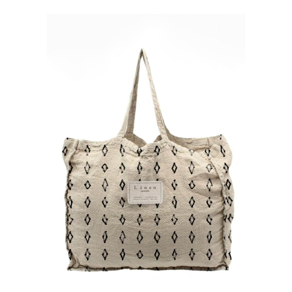 Látková taška Linen Couture Bereber, šířka 50 cm