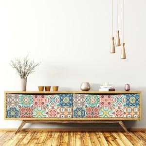Set 30 autocolante de mobilier Ambiance Tiles Celistino, 20 x 20 cm