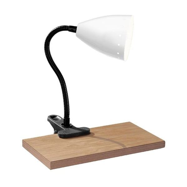 Stolní lampa Flexi White