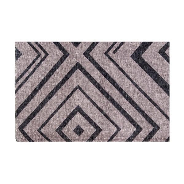 Vysoce odolný kuchyňský koberec Webtappeti Hellenic Grey, 130x190 cm