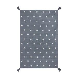 Ručně tkaný šedý koberec Art For Kids Voyage, 110x160cm