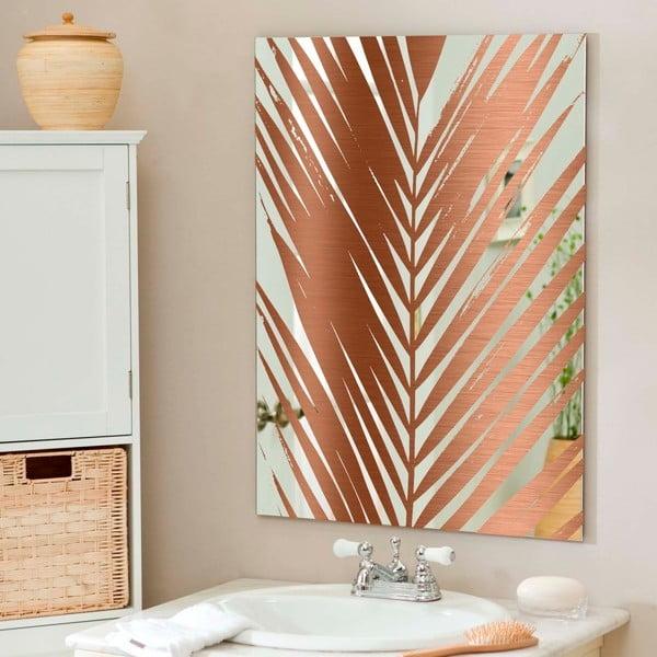 Nástěnné zrcadlo Surdic Espejo Decorado Mauritia Copper, 50 x 70 cm