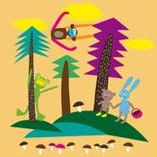 Obrazová tapeta LAVMI® Forest, 2,3x2,7m