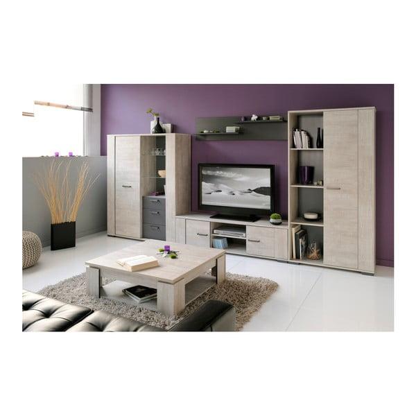 TV stolek v dekoru dubového dřeva Parisot Lille