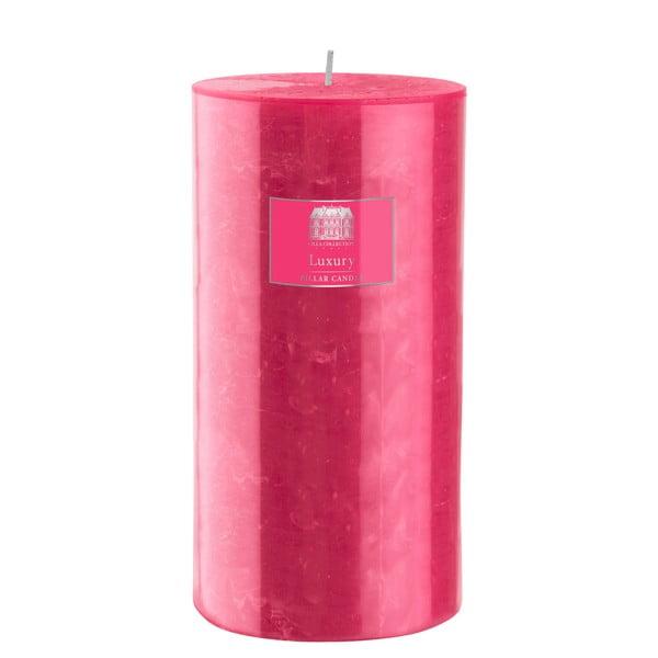 Svíčka 20 cm, růžová, 160 hodin hoření