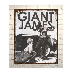 Cedule Giant james Dean , 56x45 cm