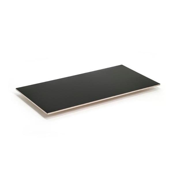 Černá deska k podnožím Master & Master Flat, 150x75cm
