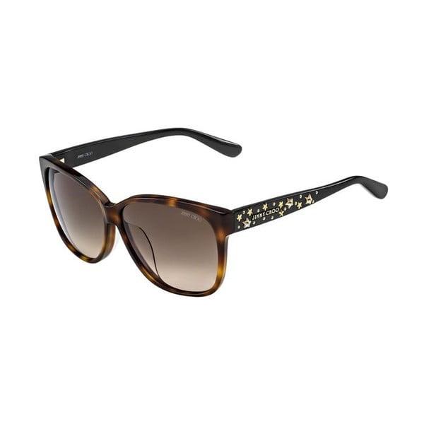 Sluneční brýle Jimmy Choo Chanty Leopard/Brown