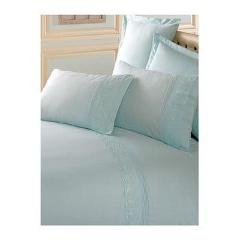 Lenjerie de pat cu cearșaf din bumbac Brode, 200 x 220 cm de la Cotton Box