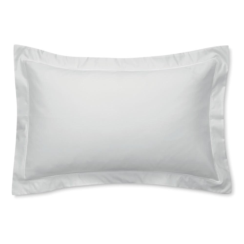 Šedý povlak na polštář z bavlněného saténu Bianca Oxford Luxury, 50 x 75 cm