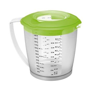 Cană/recipient măsurare Westmark Helena, 1.4 l, verde imagine