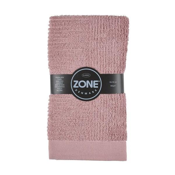 Růžový ručník Zone Classic,50x100cm
