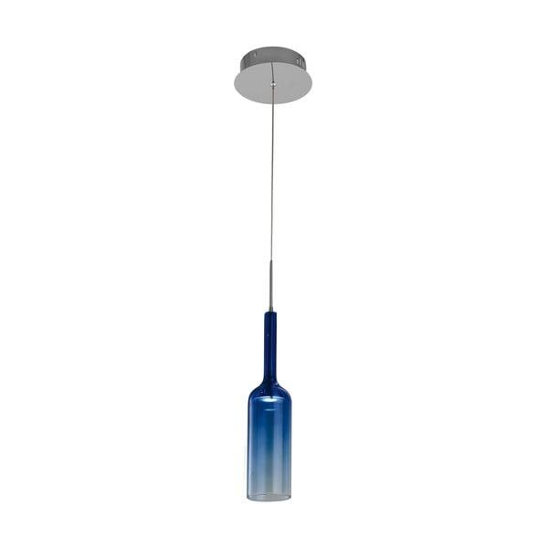 Modré stropní svítidlo Bottle Blue