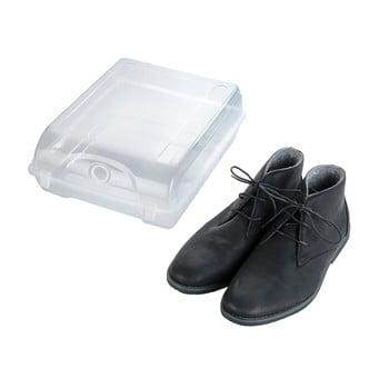 Cutie transparentă pentru depozitarea pantofilor Wenko Smart, lățime 29 cm de la Wenko