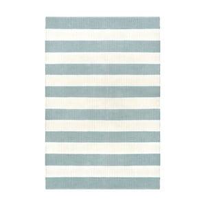 Šedo-modrý oboustranný koberec vhodný i do exteriéru Green Decore Highway, 90 x 150 cm