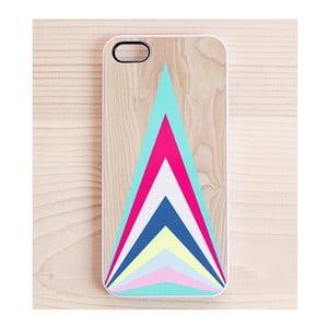 Obal na iPhone 5, Colourful Upward Triangles
