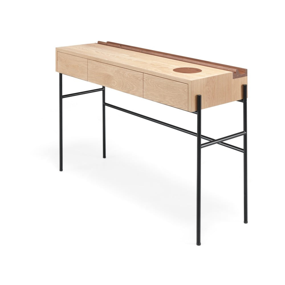 Konzolový stolek z ořechového a dubového dřeva Wewood - Portuguese Joinery Concierge